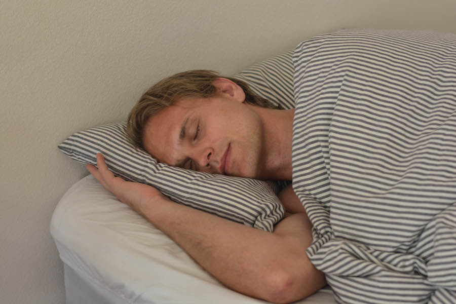 hans jonas hansen sleeping